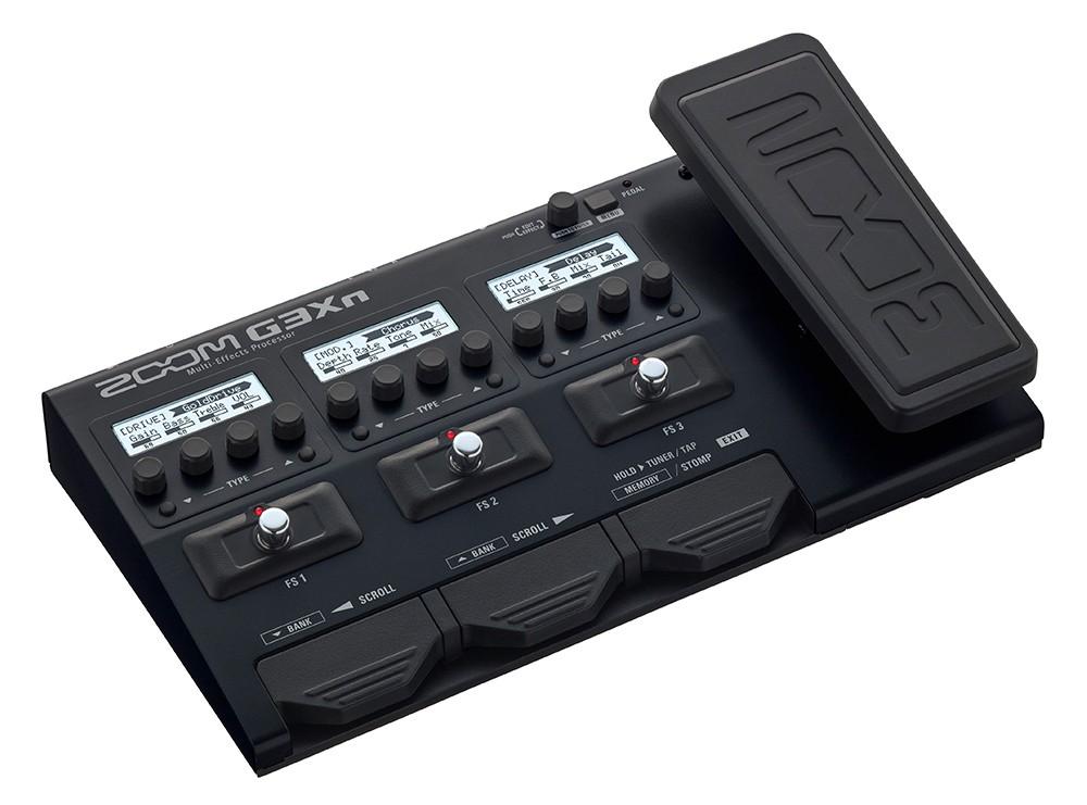 Pedaleira Zoom G3Xn para guitarra