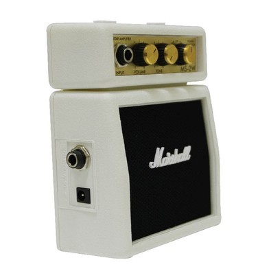Micro Amplificador Marshall - Stack White para Guitarra - MS-2W