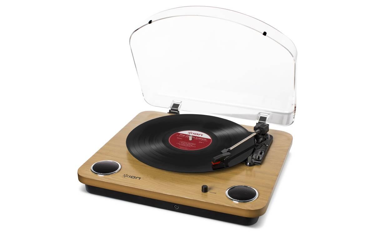Ion Max Lp - Toca Discos de Vinil Com Alto Falantes e Conversor MP3