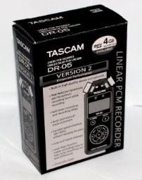 Gravador Tascam Dr-05 - Version 2