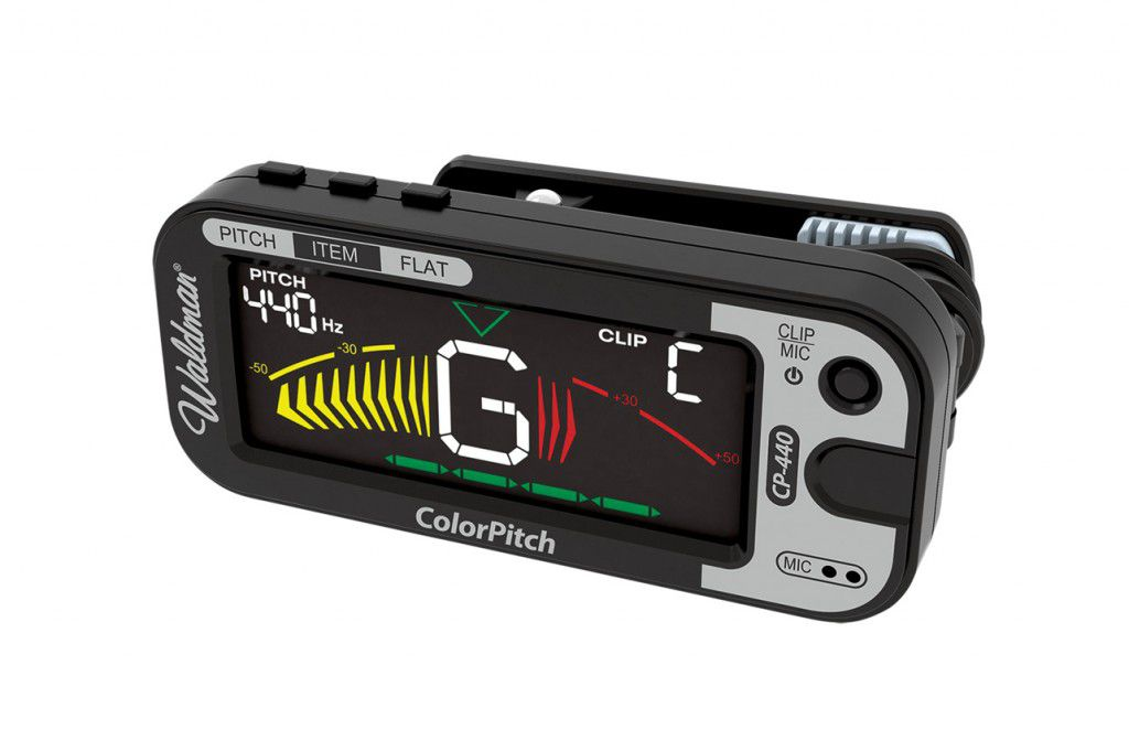 Afinador Clip Waldman CP-440 Display Colorido