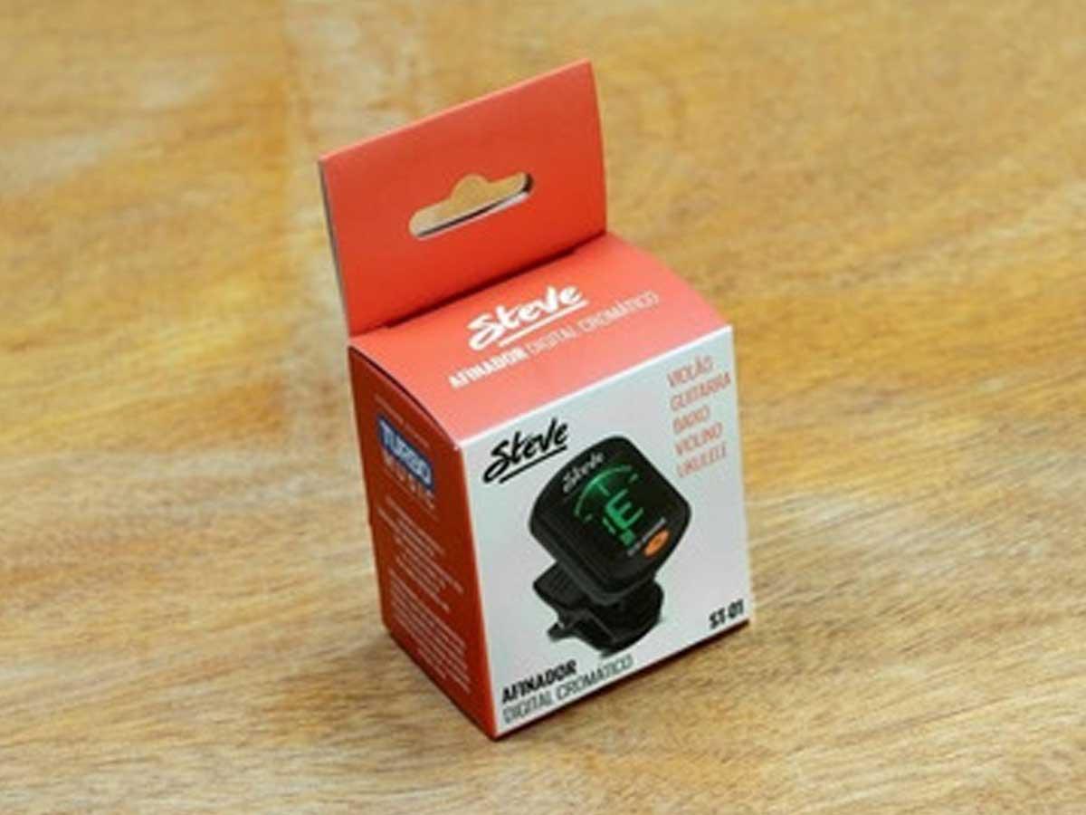 Afinador Digital Cromático de Clip Steve ST-01