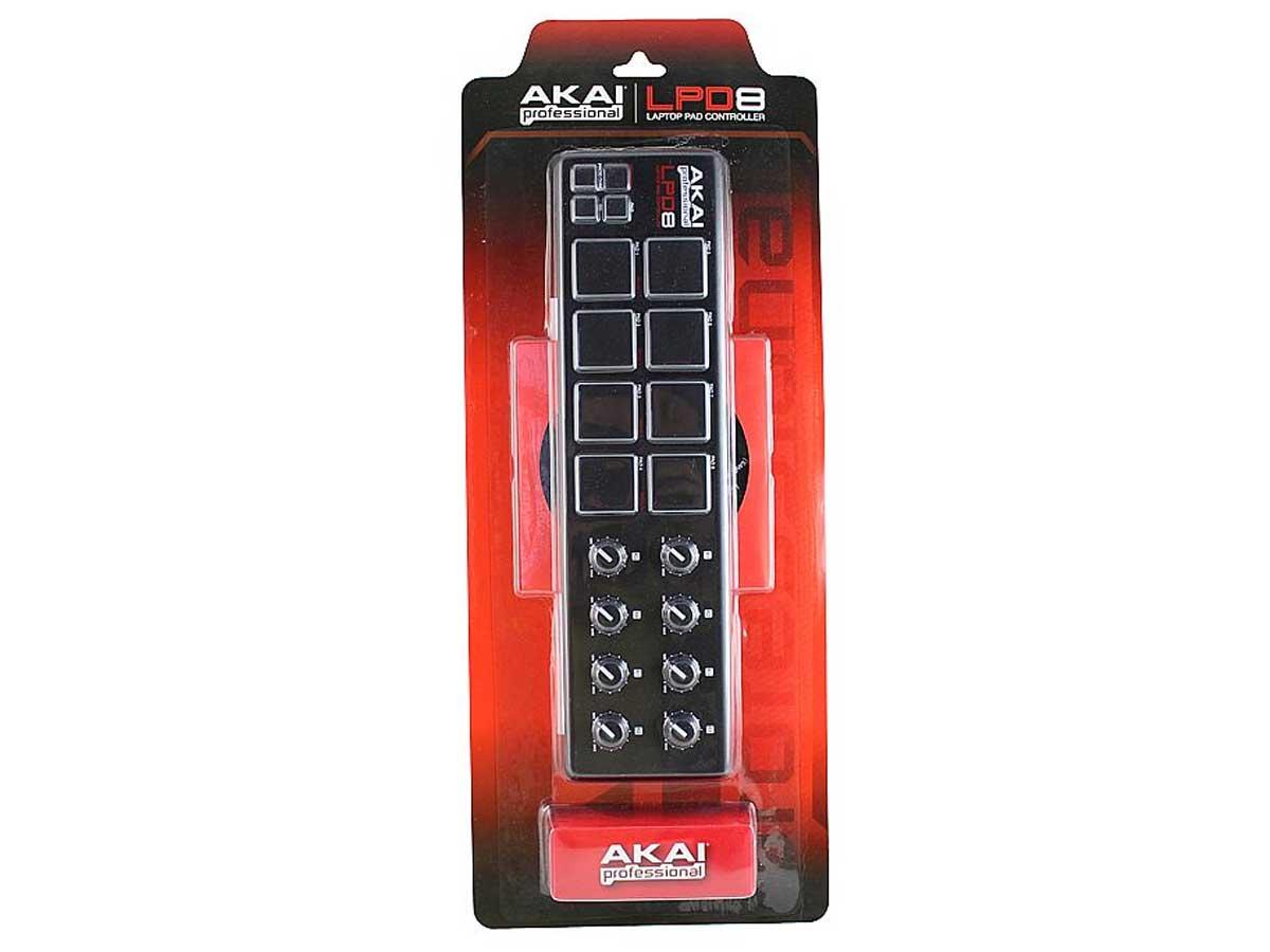 AKAI LPD8 Controlador de Pad para laptop DJ Sampler