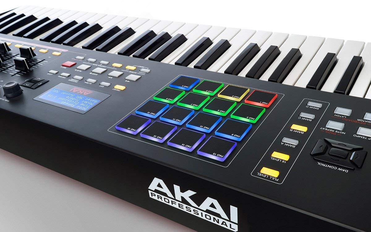 Akai MPK261 Teclado Controlador Midi '