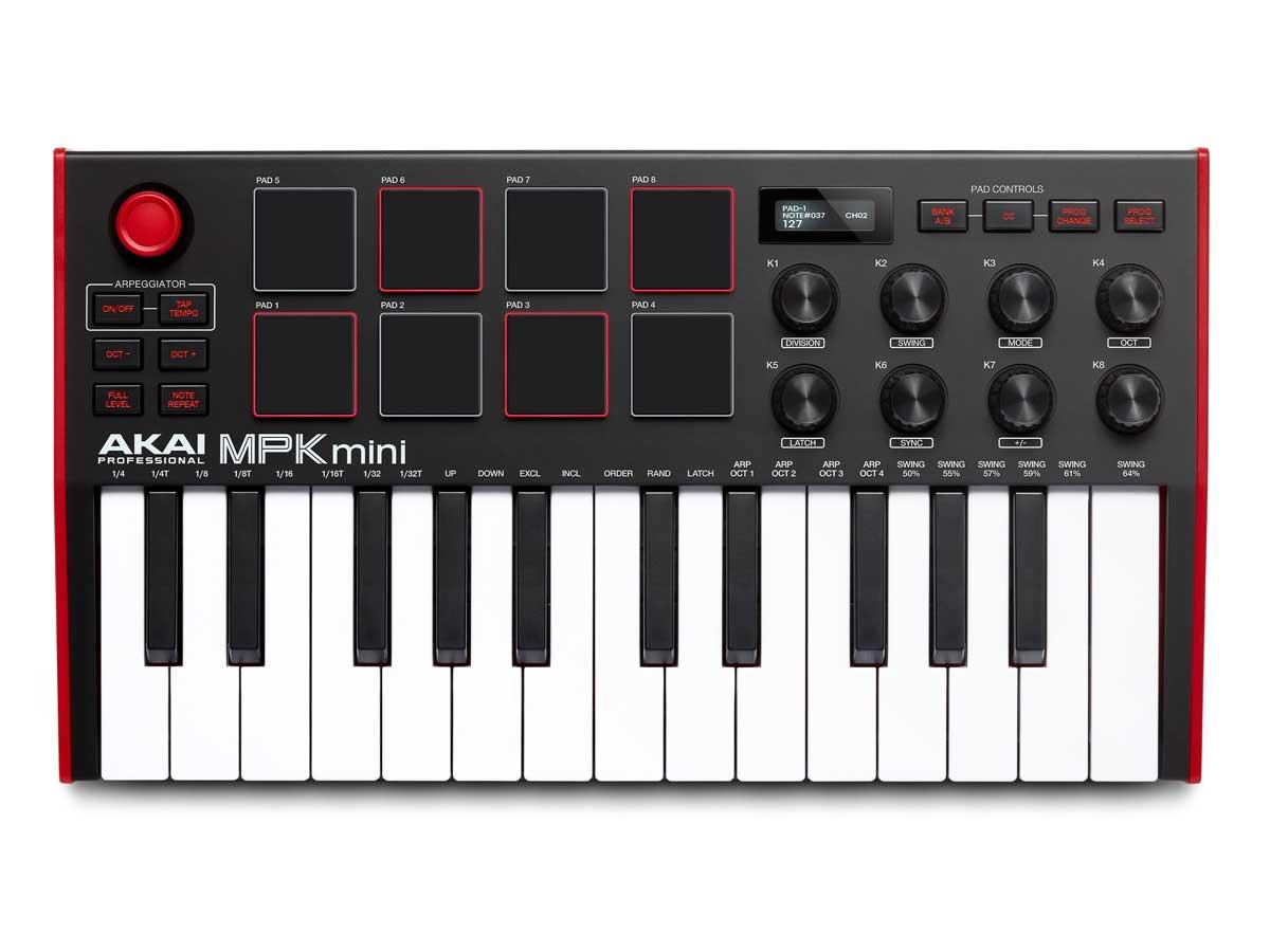 Akai MPK Mini Mk3 - Controlador Midi Usb