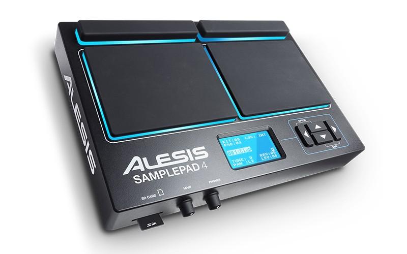 Alesis SamplePad 4 - Sampler com entrada para SD