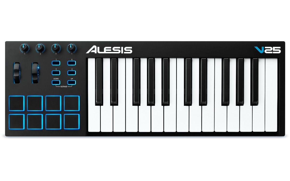 Alesis V25 - Controlador Midi USB com pads
