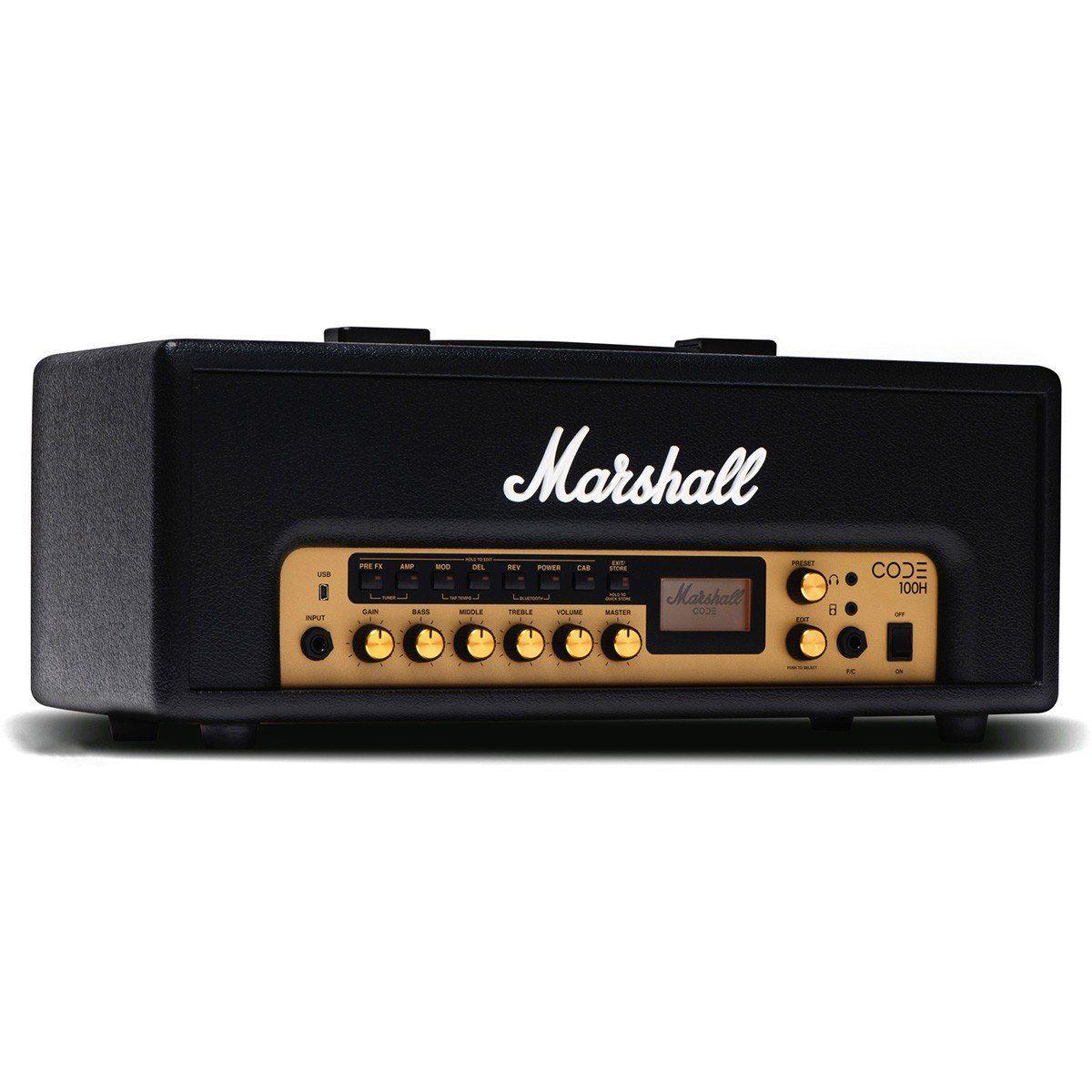 Amplificador Cabeçote para Guitarra Marshall - CODE100H