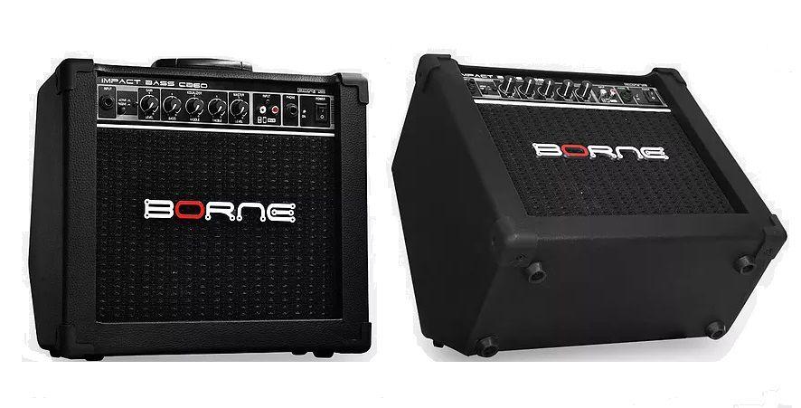 Amplificador de Baixo Borne Impact Bass CB60 20w