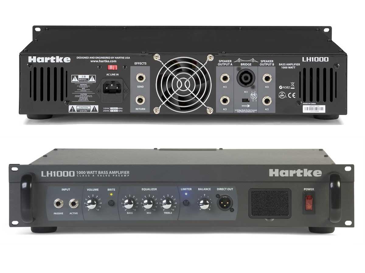 Amplificador de Baixo Cabeçote Hartke LH1000