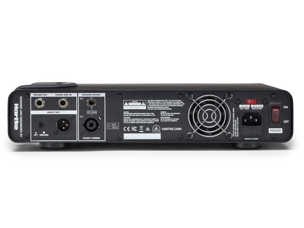 Amplificador Cabeçote de Baixo Hartke TX600