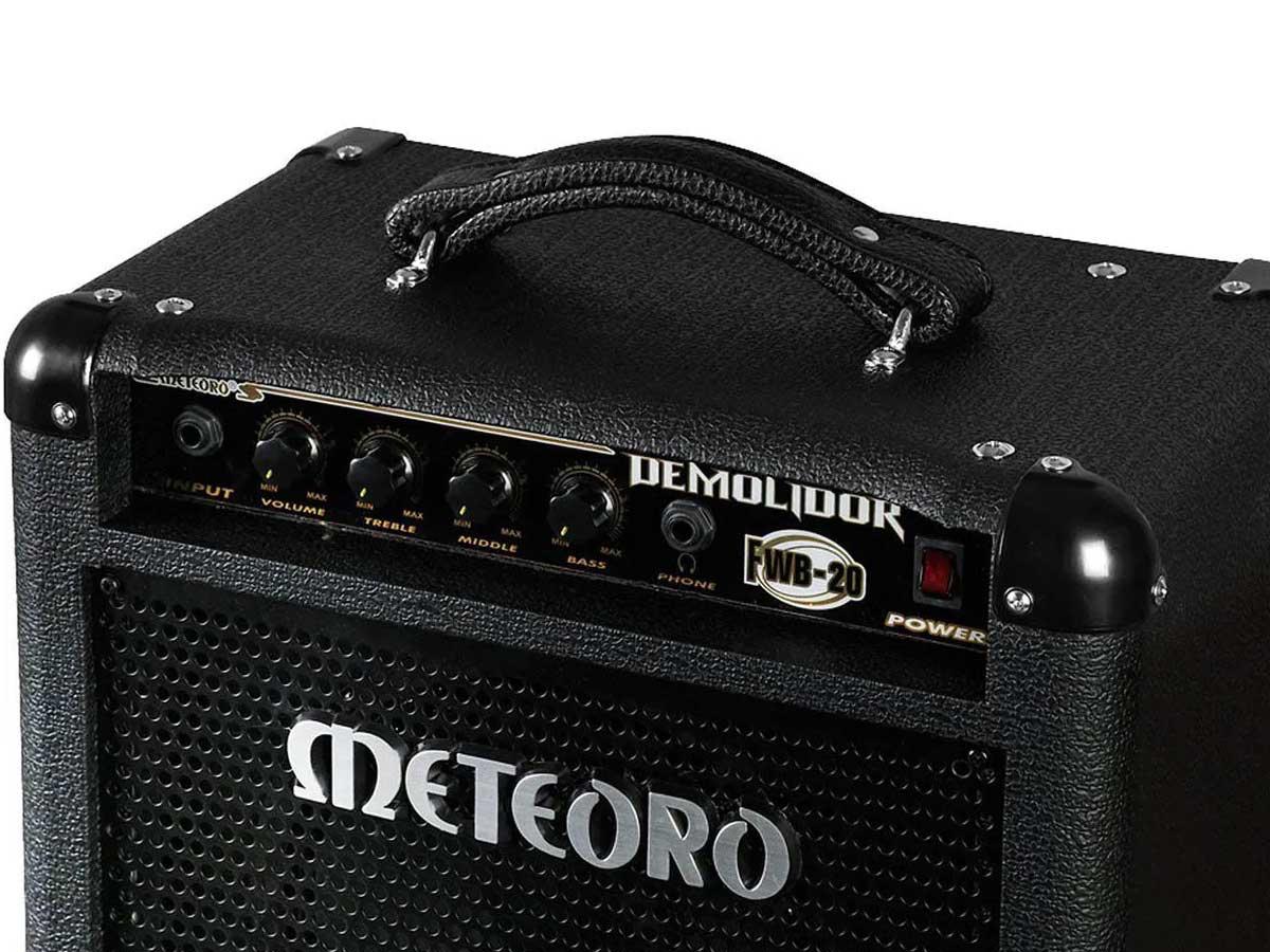 Amplificador de Baixo Meteoro Demolidor FWB 20