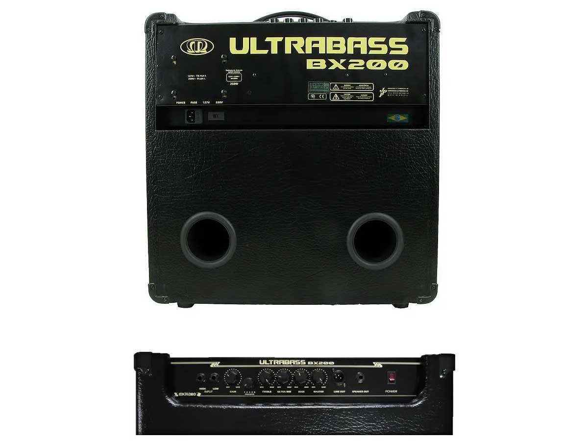 Amplificador de Baixo Meteoro Ultrabass BX 200 - 250w