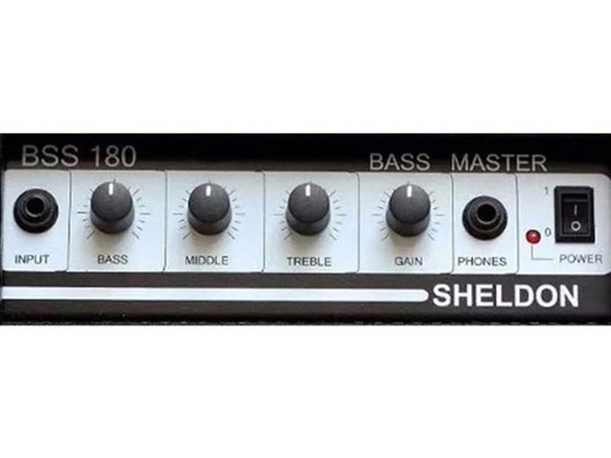 Amplificador de Baixo Sheldon BSS 180 Bass Master