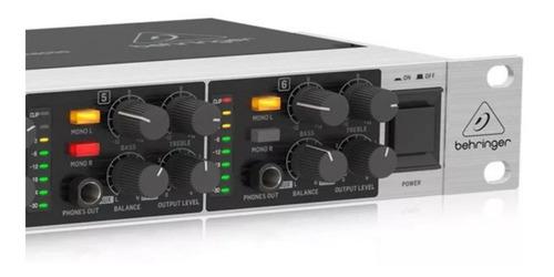 Amplificador de fone de ouvido Behringer HA6000 Powerplay
