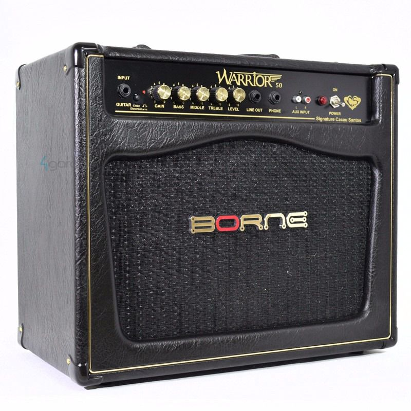 Amplificador de Guitarra Borne Warrior 50 - 50w