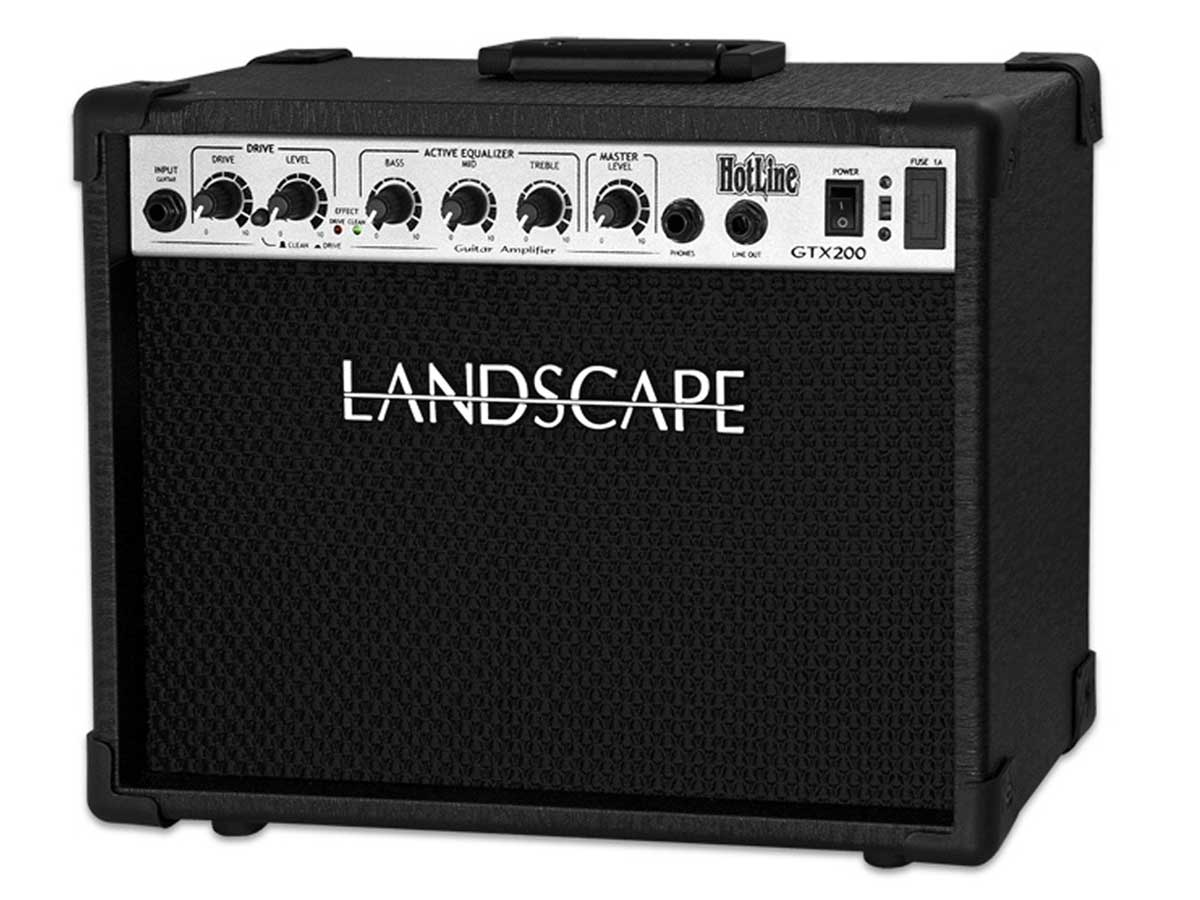 Amplificador de Guitarra Landscape Hotline GTX200 - 20W