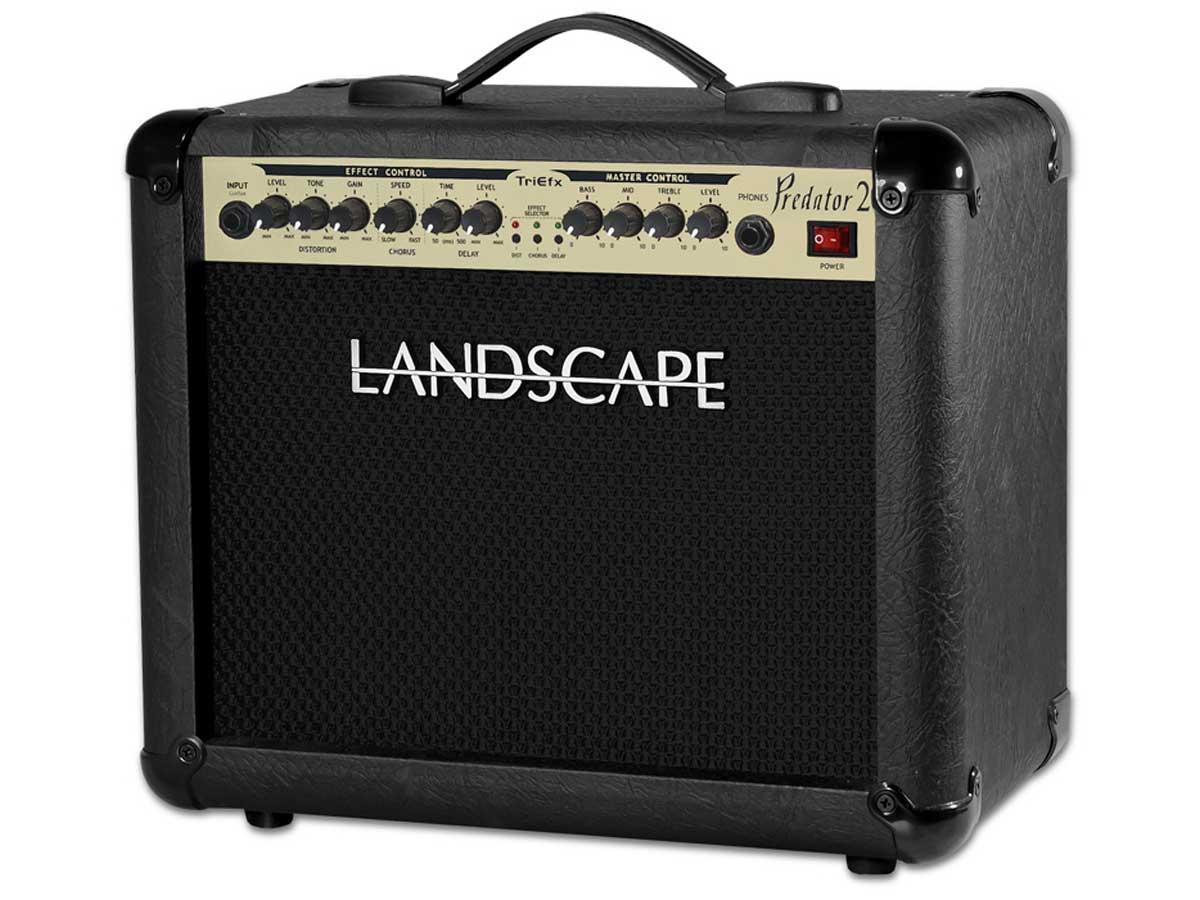 Amplificador de Guitarra Landscape Predator 20 TriEfx PDT20TFX - 20w