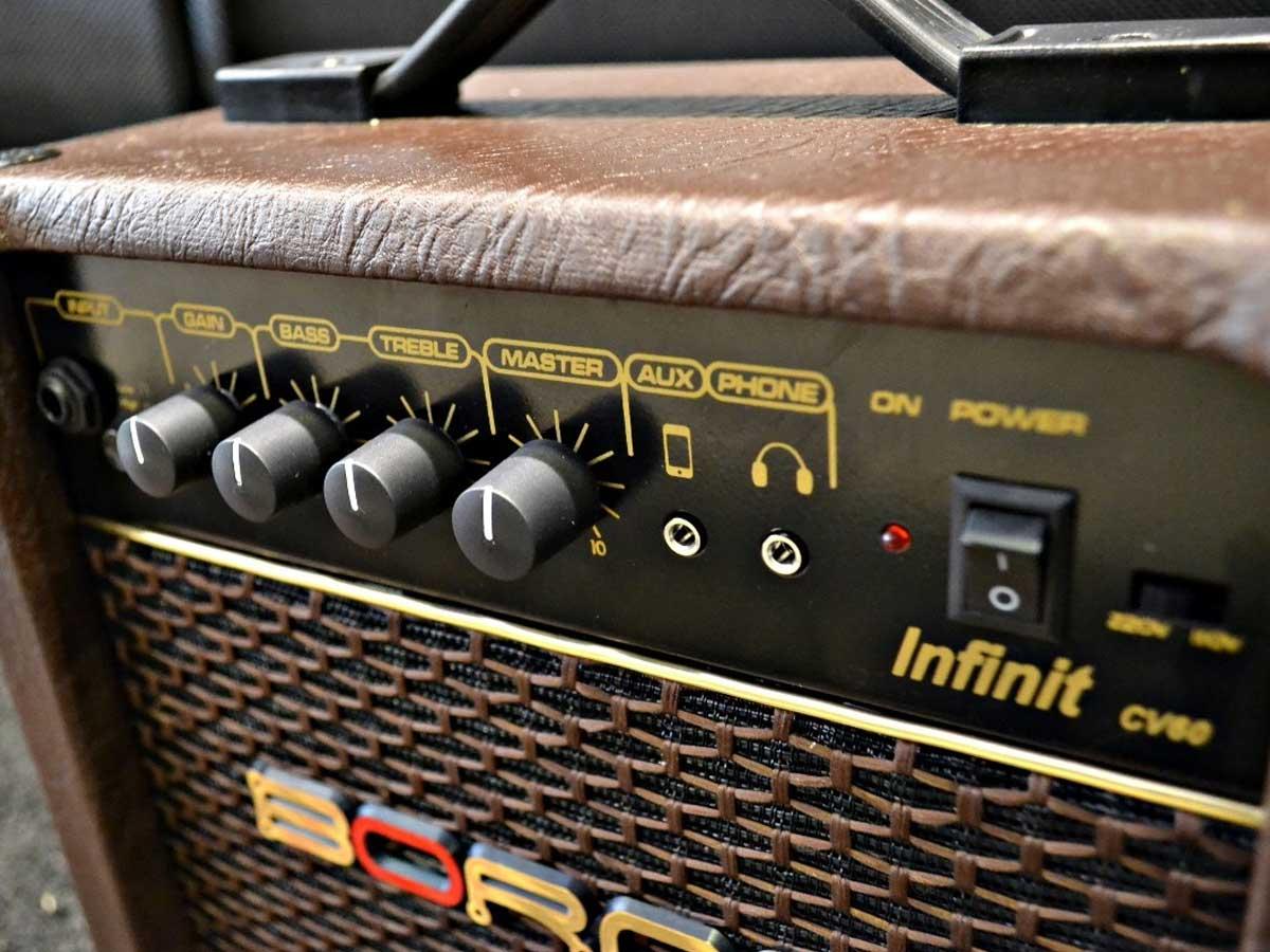 Amplificador de Violão Borne Infinit CV60 15w