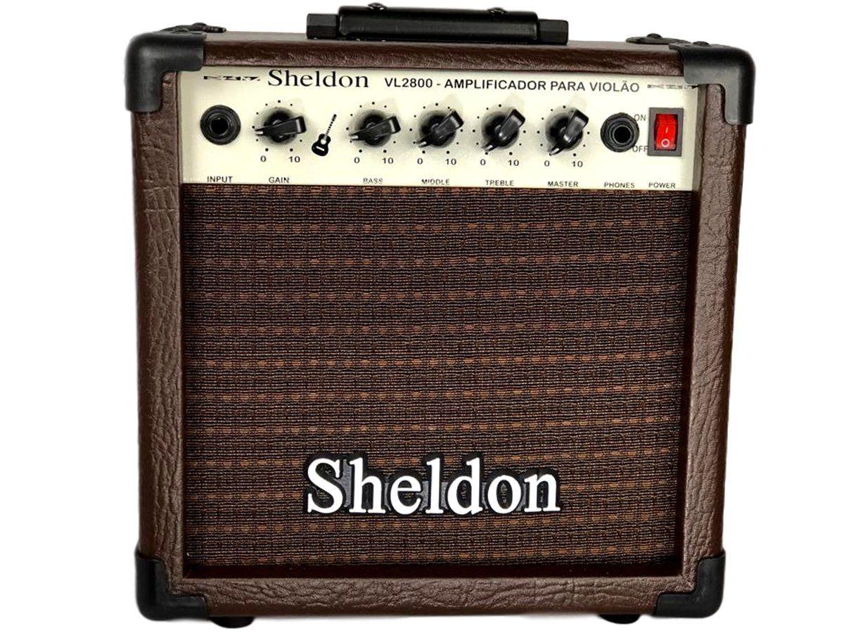 Amplificador para Violão Sheldon VL 2800