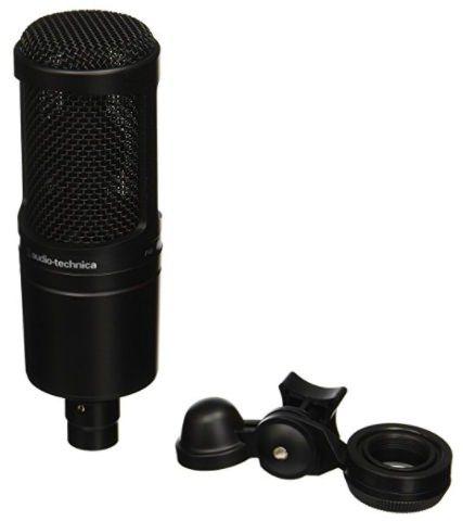 Audio Technica AT2020 - Microfone condensador profissional