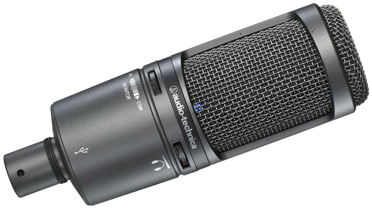 Audio Technica AT2020USB+ - Microfone Digital Condensador USB