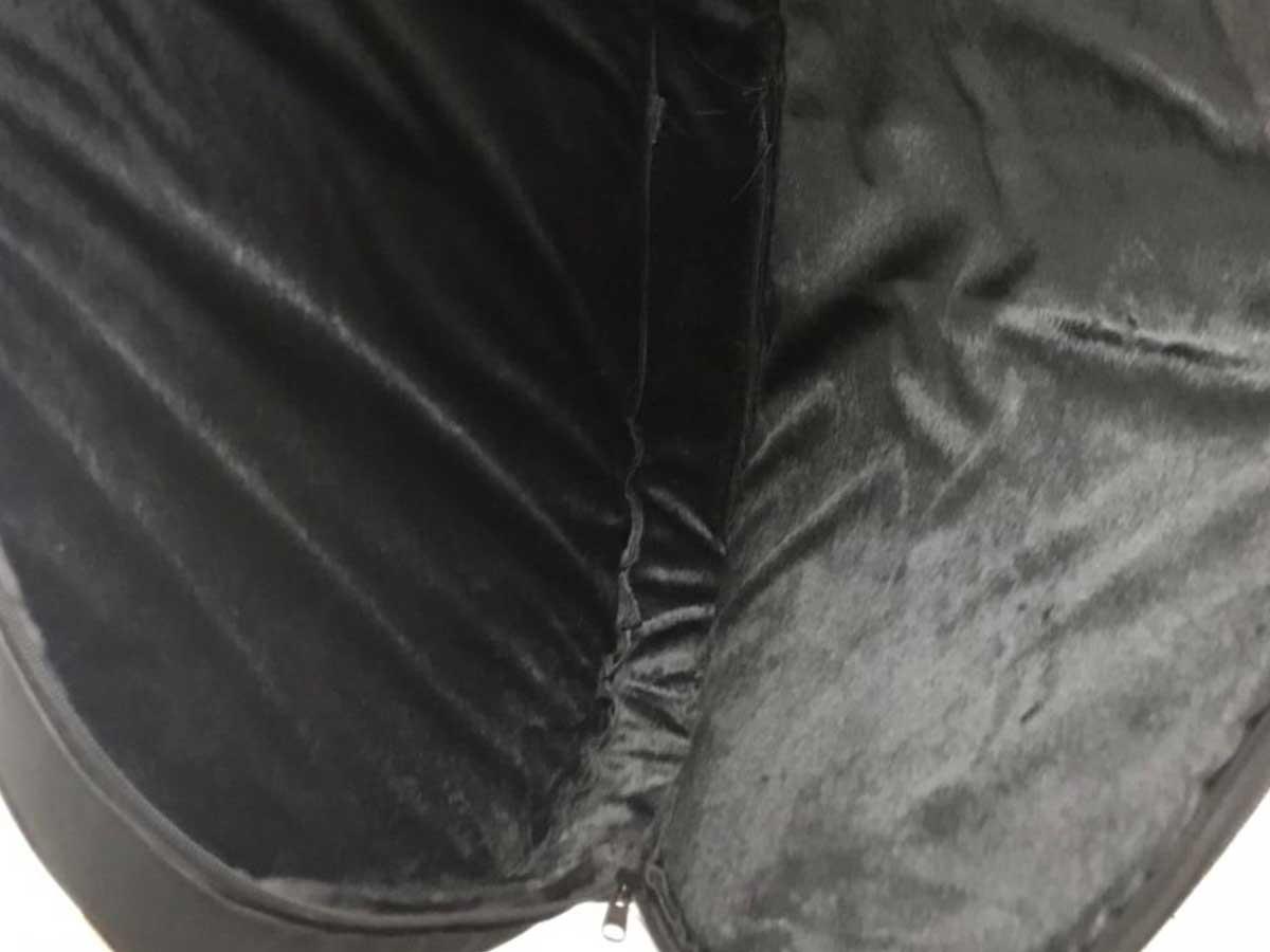 Bag Luxo para Baixo RCK Audio com Pelúcia