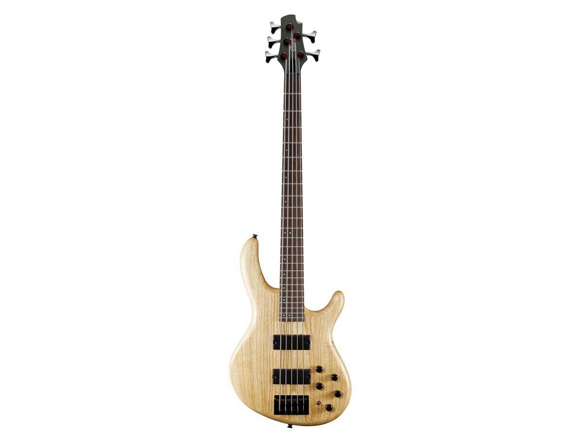 Baixo de 5 Cordas Cort Action V DLX Ash Pré amp Mark Bass