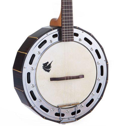 Banjo Marquês Baj-99 Eletro Acústico Ativo - Jacarandá