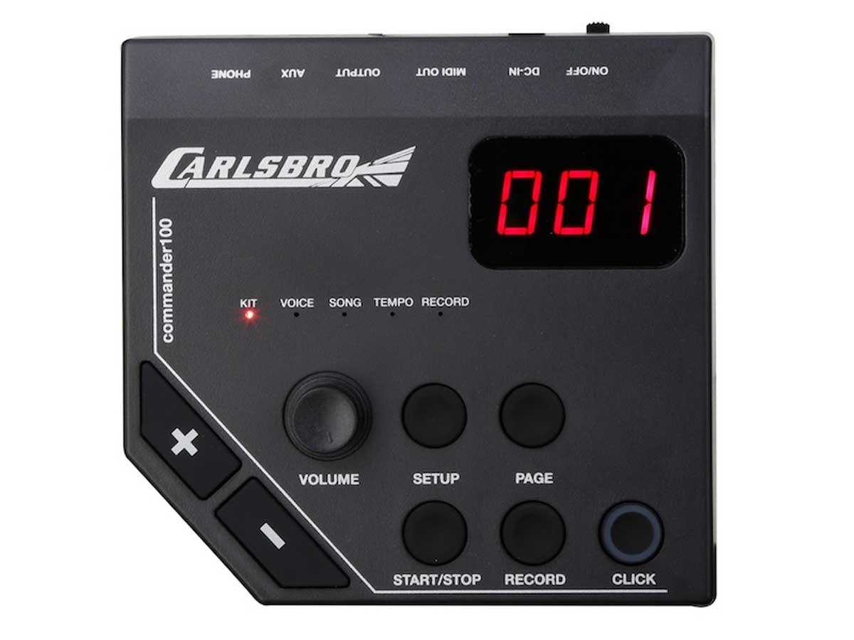 Bateria Eletrônica Odery Carlsbro CSD-100