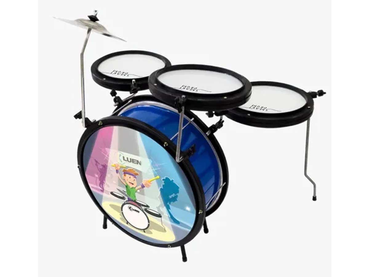 Bateria Infantil Luen Smart Drum