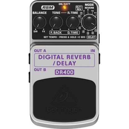 Behringer DR400 - Pedal Reverb Delay