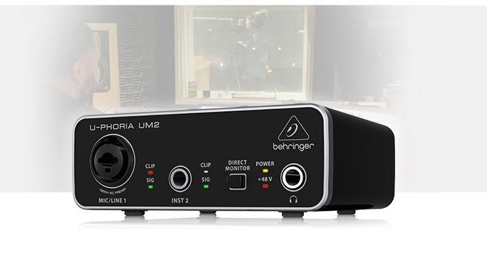 Behringer UM2 Interface de audio USB