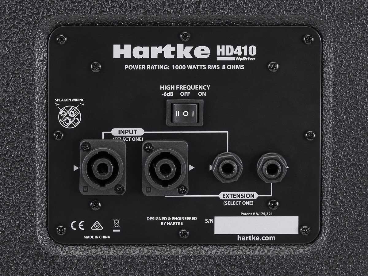 Caixa Acústica para Baixo Hartke HD410