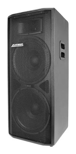 Caixa de som Ativa Datrel AT15x2 Dupla Bluetooth 500W