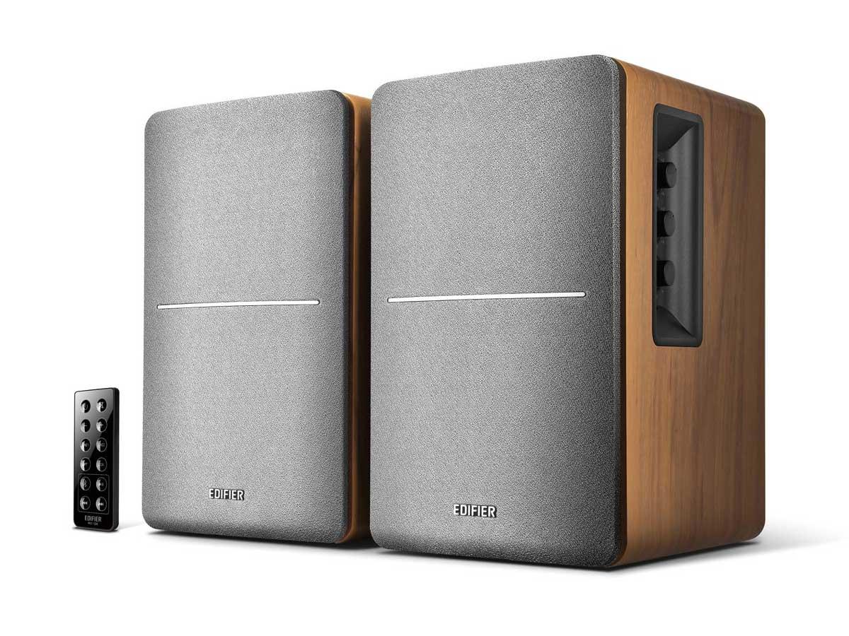 Caixa De Som Edifier R1280DB Madeira Monitor Referência Home Studio Bluetooth