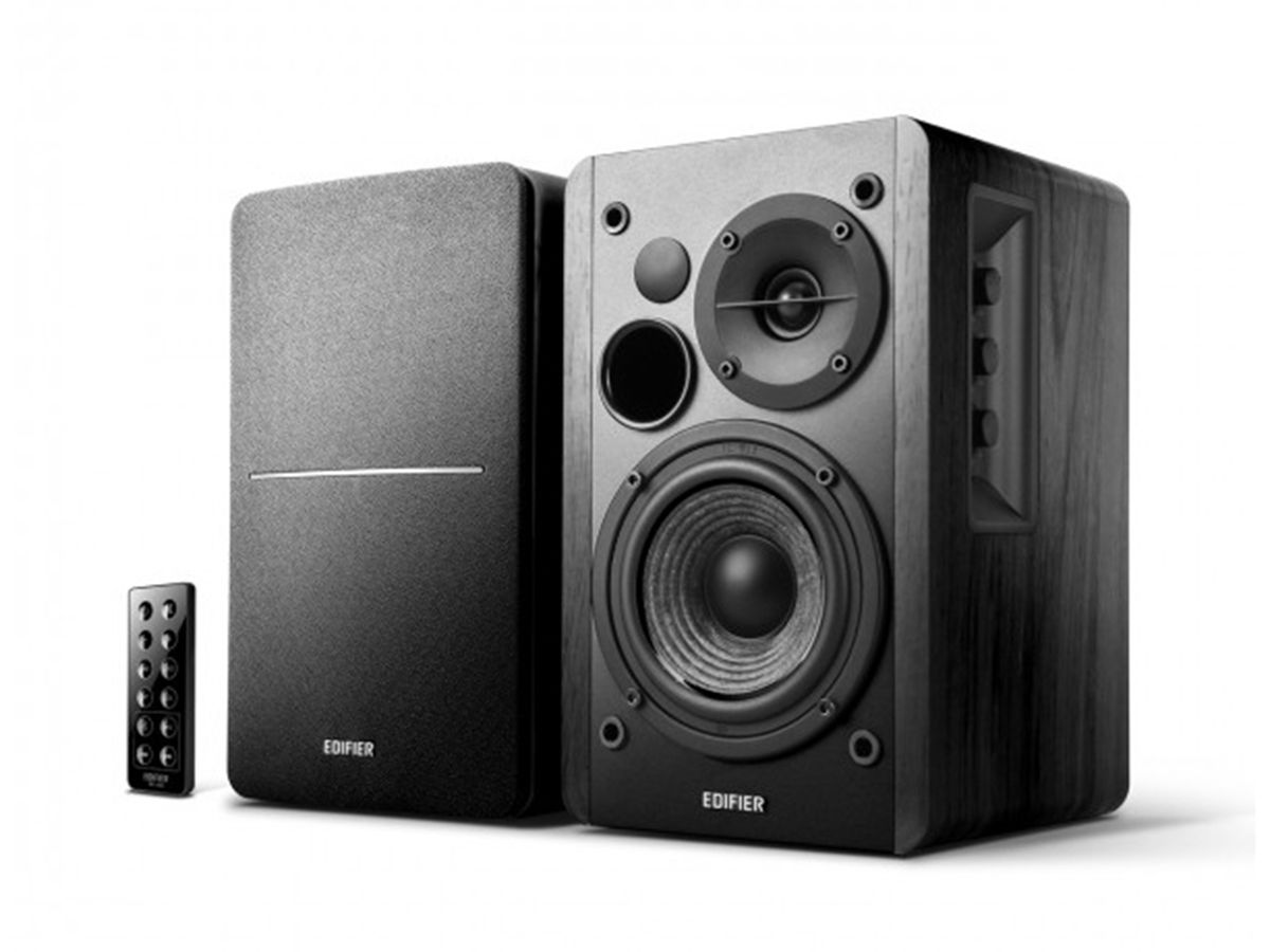 Caixa De Som Edifier R1280DB Preta Monitor Referência Home Studio Bluetooth