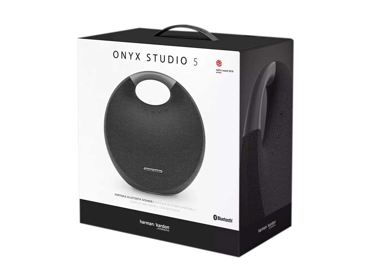 Caixa De Som Portátil Bluetooth Harman Kardon Onyx Studio 5