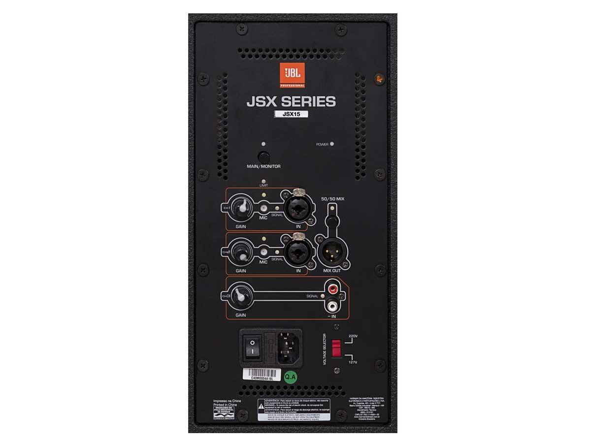 "Caixa de Som Profissional Ativa JBL JSX15 350w RMS 15"""