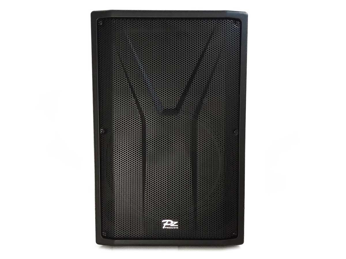 """Caixa de Som Profissional Ativa PZ Proaudio YAC15A 15"""" 500w"""