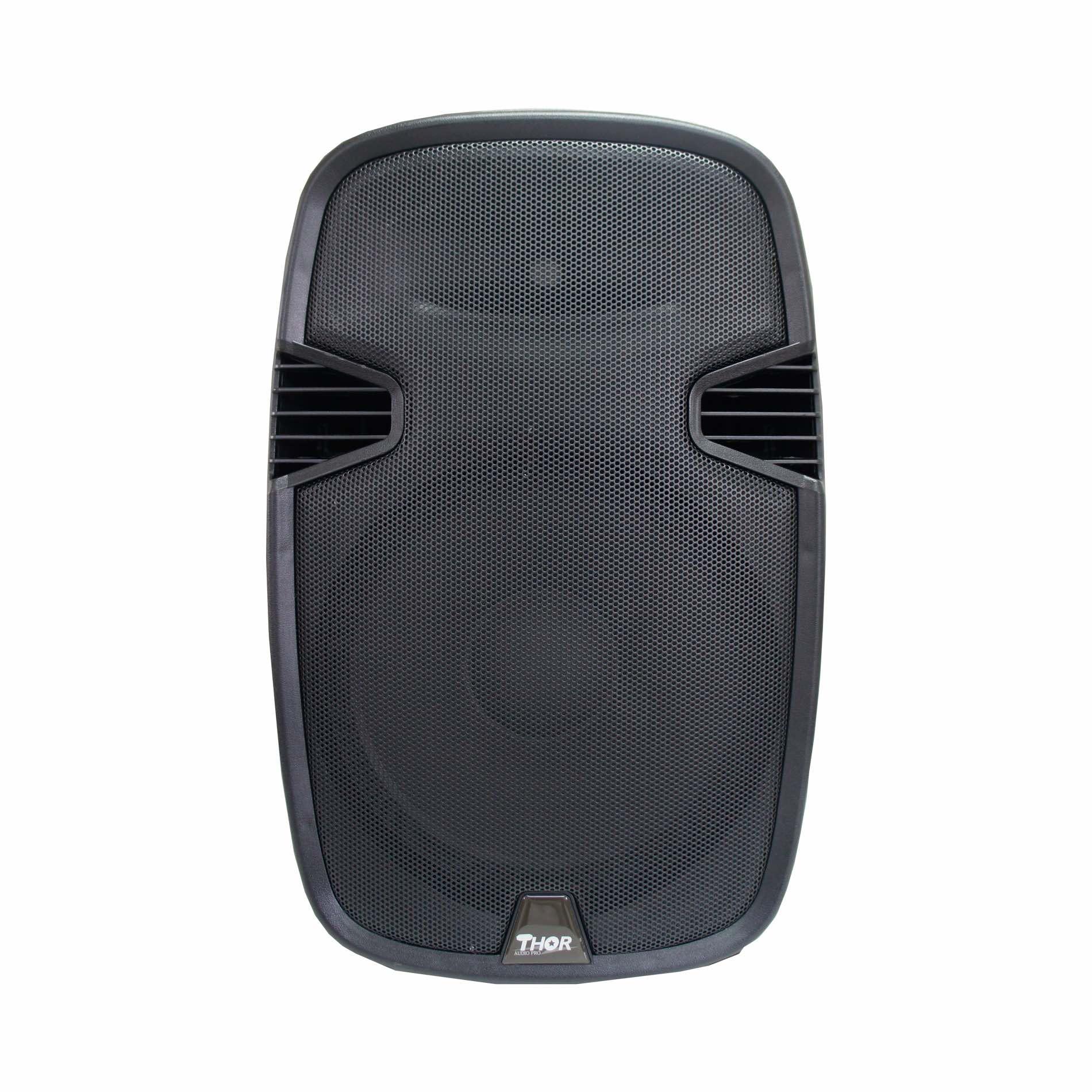 Caixa de Som Thor AP150BT - Ativa com bluetooth USB e controle remoto