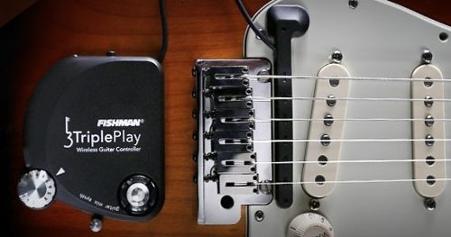 Captador Fishman Triple Play - Transforma Sua Guitarra Em Midi