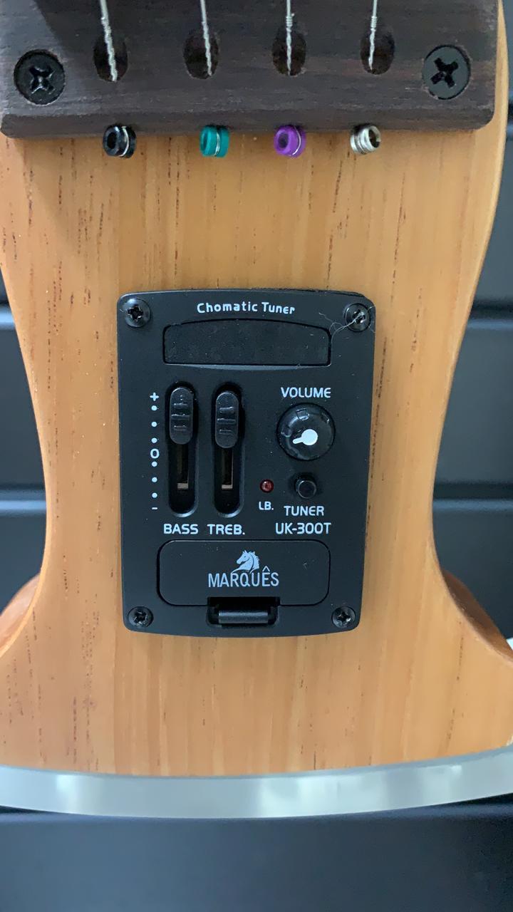 Cavaquinho Marquês Vazado Silent Eletro Acústico