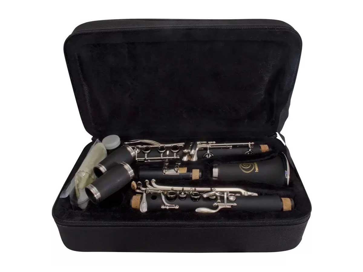 Clarinete Harmonics Bb 17 Chaves HCL-520