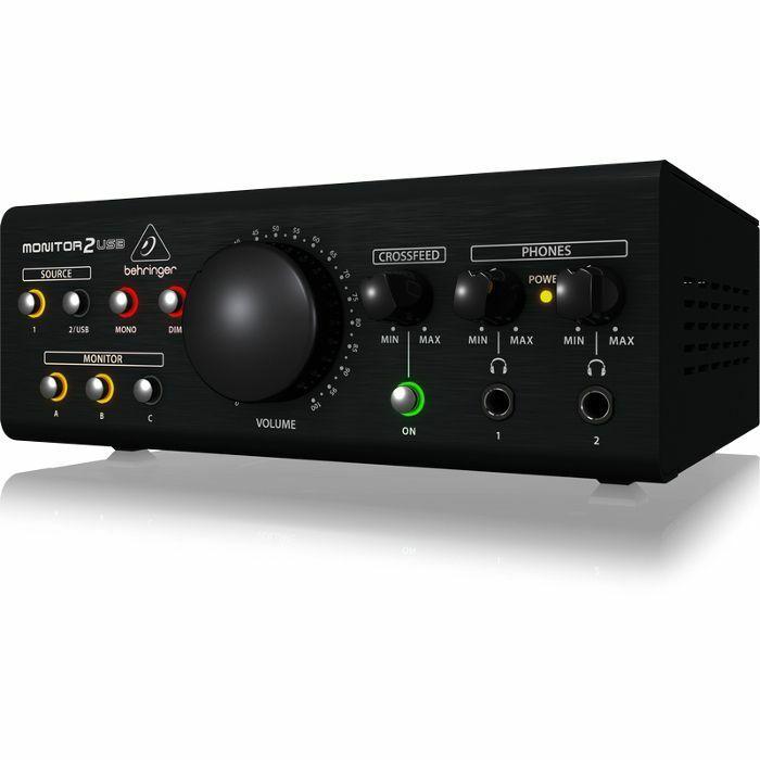 Controlador de Monitoração Behringer - MONITOR2USB