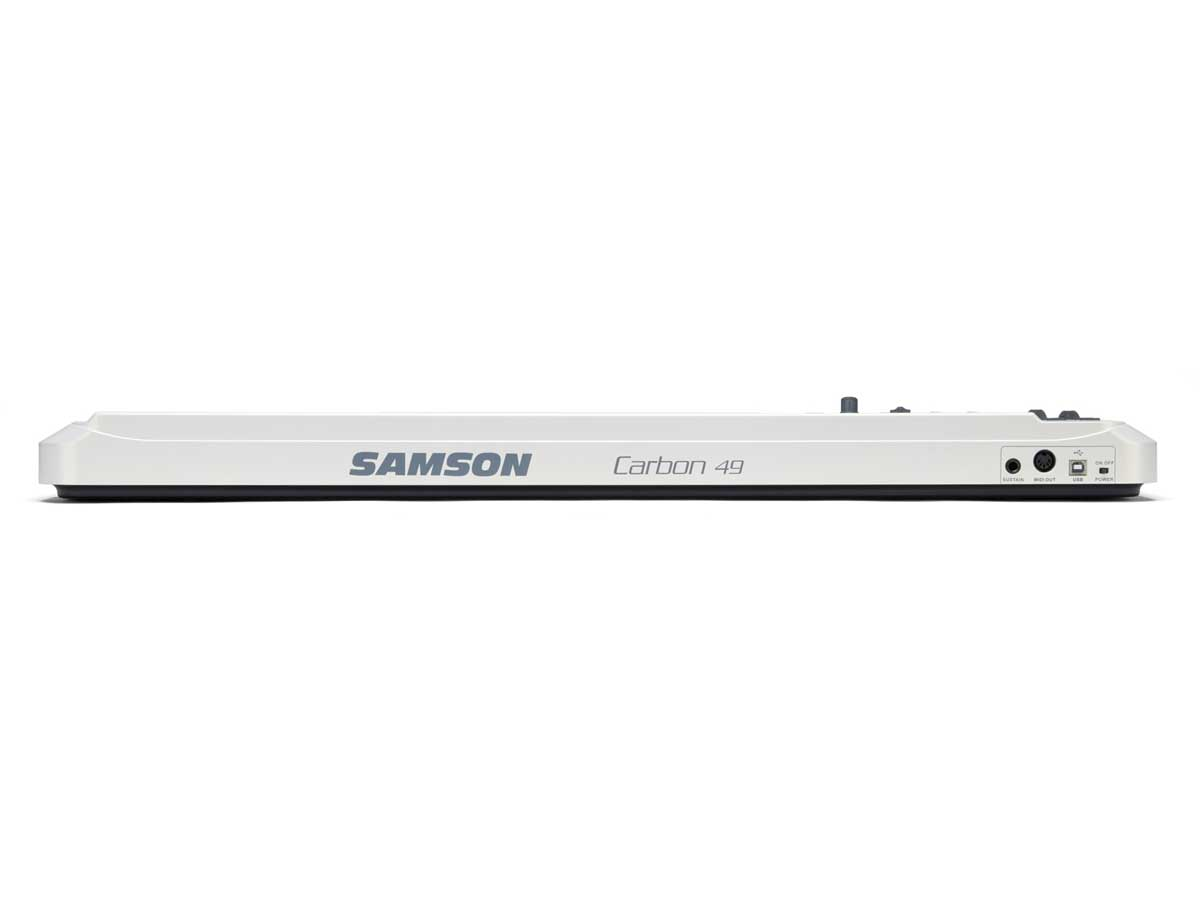 Controlador Midi Samson Carbon 49 Teclado Usb
