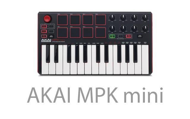 Akai MPK Mini Mk2 - Controlador Midi Usb