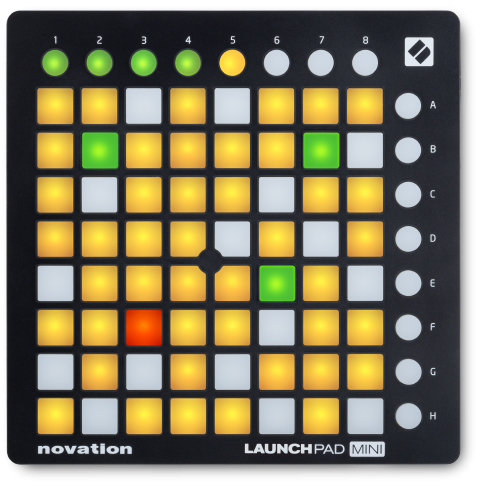 Controlador Novation Launchpad Mini MK2