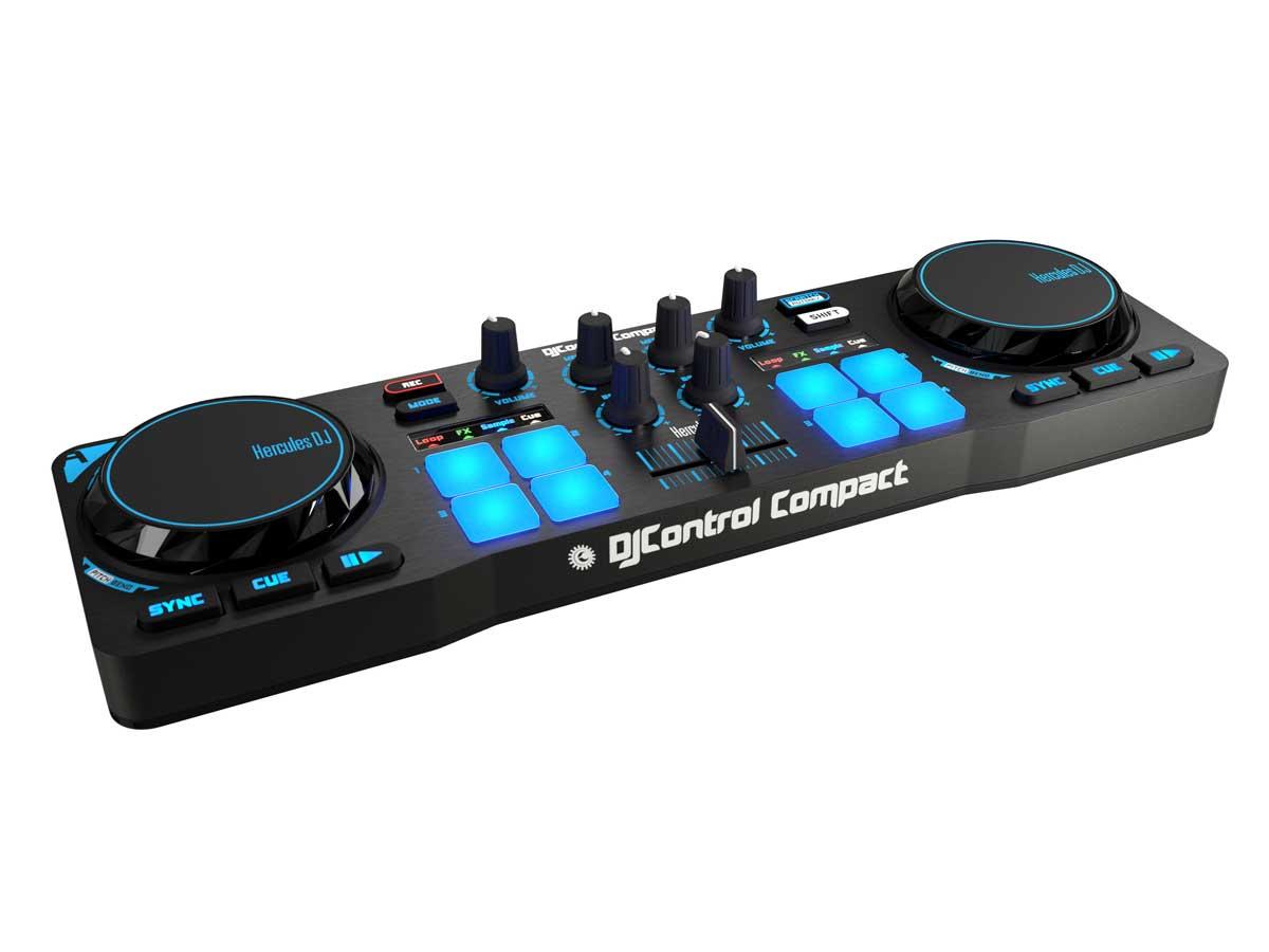 Controladora Para Dj Hercules Dj Control Compact