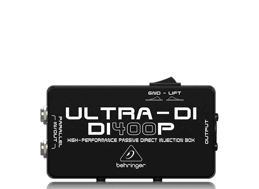 Direct Box Passivo Behringer Di400p Ultra